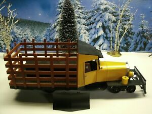 Aristocraft Spectrum rail truck 1:20.3 scale narrow gauge yellow and black 82937