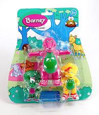 NEW Universal Studios Barney & Friends 3-Piece Figure Pack Playset BJ Baby Bop