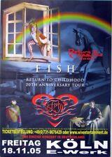 FISH - MARILLION - 2005 - Konzertplakat - Return to Childhood - Tourposter - Köl