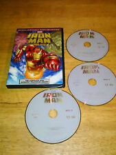 Iron Man: The Complete Animated Series (DVD, 2010, 3-Disc Set)