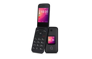 Alcatel GO FLIP 4044T Sprint 4G LTE Camera Flip Phone - Black C