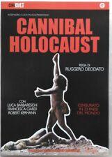 Dvd Cannibal Holocaust di Ruggero Deodato 1979 Usato