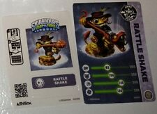 RARE Skylanders Swap Force Rattle Shake Collector CARD & WEB CODE ONLY