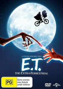 E.T. THE EXTRA TERRESTRIAL (1982 MOVIE - DVD SEALED + FREE POST)