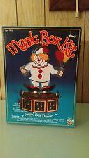 Vintage 1984 Craft Master Clown Music Box Kit New Sealed! -1984-