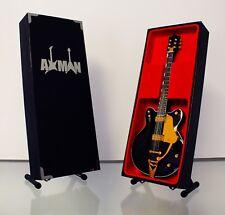 George Harrison Miniature Guitar Replica (UK Seller) The Beatles