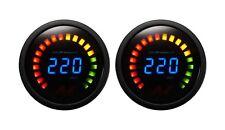 2 AIR ZENITH 220 PSI BLACK DIGITAL GAUGES FOR AIR RIDE