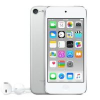 REFURBISHED Apple iPod Touch 6th Generation IOS 16GB Silver & Wifi Bluetooth MP3