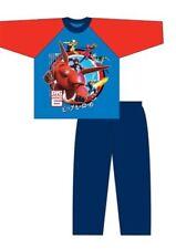 Pijamas y batas de color principal azul para niño de 2 a 16 años