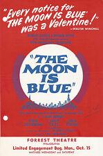 "Hiram Sherman ""MOON IS BLUE"" Coleen Gray / James Young 1951 Philadelphia Flyer"