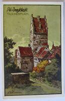 Alt Ingolstadt, Taschenturm ca. 1910