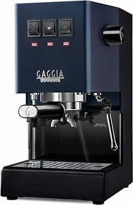 Gaggia RI9380/50 Classic Pro Espresso Machine, Classic Blue Brand new In Box FS