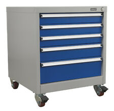 Sealey Mobile Industrial Cabinet 5 Drawer