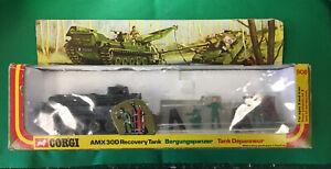 Corgi 908 AMX 30D MILITARY RECOVERY TRACTOR VNMIB