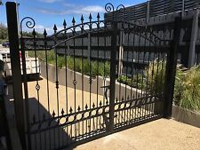 New! Steel double swing driveway gates adjustable 3.4 to 3.6m avail now Can send
