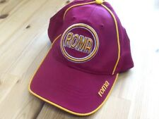 Roma  Italy Soccer Hat NWOT Italian Futbol 3-D Raised Logo