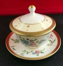 "WEDGWOOD ""GRACE"" JAPANESE / ORIENTAL TEA BOWL, COVER / LID & SAUCER"
