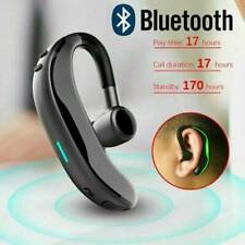Bluetooth-Headset Handsfree-Wireless Earpiece Waterproof Earphone Stereo Earbuds