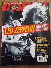Uncut Music Magazine Uk July 2002 Led-Zeppelin~When They Were Gods!