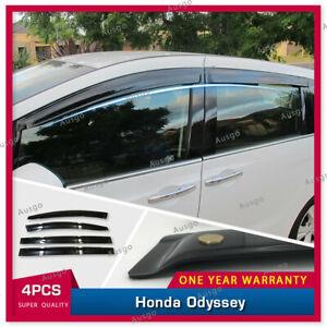 AUS Luxury Weather Shields Weathershields Window Visor for Honda Odyssey 2013+ T