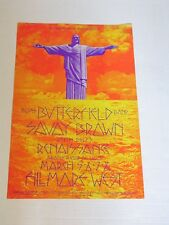 BG221 BUTTERFIELD BLUES BAND & SAVOY BROWN Fillmore Poster by DAVID SINGER