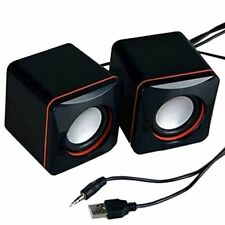 3.5mm USB Stereo Mini Speaker Subwoofer for PC Desktop Laptop Notebook Tablet