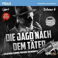 VOL.4 DIE JAGD NACH DEM TAETER -7 KRIMIS -HEINZ VAN NOUHUYS  CD NEU