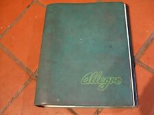 RARE AUSTIN/MORRIS ALLEGRO FACTORY MANUAL 1St Edition 1973 AKD 8342