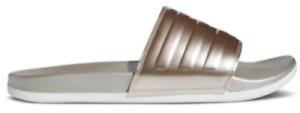 Adidas Adilette Cloudfoam Comfort Women's Slides Sandals House Shoes Stripes