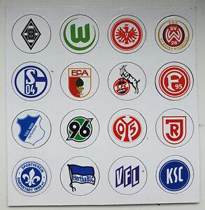 Kleine Magnet Wappen Fußball Bundesliga Magnettabelle Ersatz