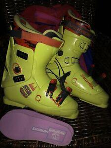 Salomon Integral Equipe  344mm Ski Boots Size 10.5/11