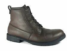 Nautica Mens Rivington Plain-Toe Boot Brown 12