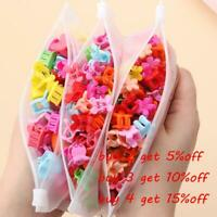 Girls Hair Clamps Flowers Hair Clips Hair Claws Mini Hairpins for Kids Baby