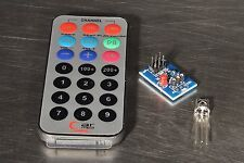 Infrared IR Wireless Remote Control Module Kit for Arduino with Battery US