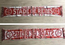 Echarpe Football Stade De Reims Fiers D'être Rémois Ancienne Foot Scarf Vintage