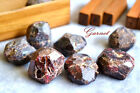 Natural Gemstone Crystal 1 Piece of Raw Rough Red Garnet Rare Collectable Large