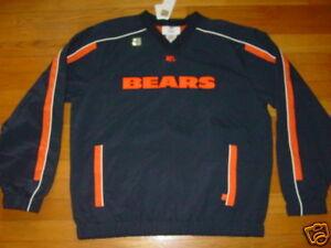 NFL CHICAGO BEARS Athletics Warm-Up Jacket sz... LARGE