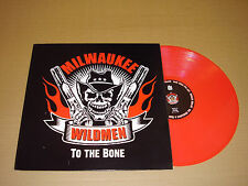 MILWAUKEE WILDMEN To The Bone NINE INCH NAILS RED VINYL LP record psychobilly