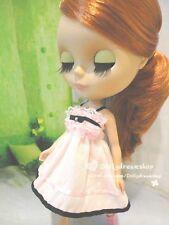 Doll dress ~ Takara Licca Pink Lace slipdress 1PCS NEW BLYTHE