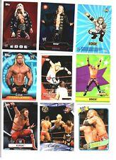 WWE Edge Wrestling Lot of 9 Cards w/ 3 Inserts B