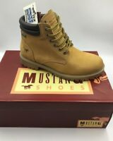 Chaussures montantes en cuir MUSTANG 4875-604 neuf
