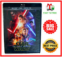 Star Wars: The Force Awakens - Blu-ray/DVD, Digital, 2016 Sealed - New