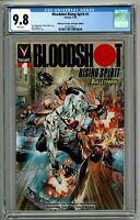 Bloodshot Rising Spirit #1 CGC 9.8 Bulletproof Comics and Games Edition Variant