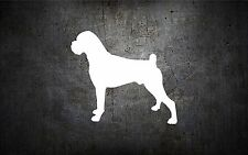 Boxer 5'' vinyl car sticker decal l buy 1 get 1 free bumper sticker dog