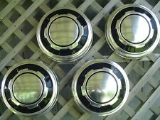 VINTAG FORD 16 IN PICKUP TRUCK DOG DISH CENTER CAPS HUBCAPS WHEEL COVERS 3/4 TON