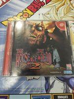 🌟 THE HOUSE OF THE DEAD 2 SEGA DREAMCAST JAPAN DC JAP NTSC-J 🇯🇵 🌟