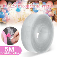 5M Long Balloon Arch Tape Rolls Party Celebration Garlands & Strings Decoration