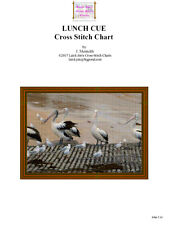 LUNCH CUE - cross stitch chart