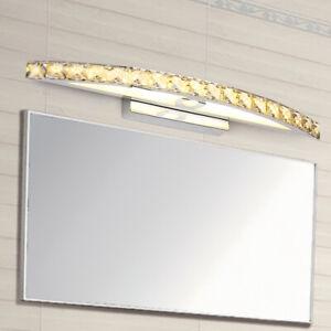LED Vanity Lighting K9 Crystal Mirror Lamp Bathroom Wall Fixtures Light SMD 2835