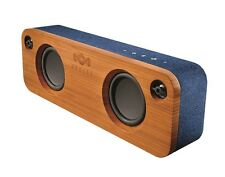 House of Marley Get Together Rechargeable Portable Bluetooth Speaker Blue Denim